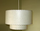 retro-modern pendant light fixture