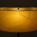 kidney shape lampshade