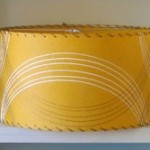 picture of Modern Fiberglass Drum Lampshade