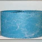 Blue Drum Lampshade