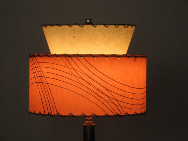 picture of 1950s style lampshade