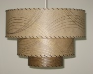 image of upside down pendant lamp
