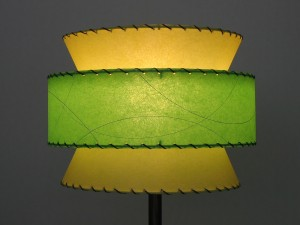 Jetsons atomic lamp shade