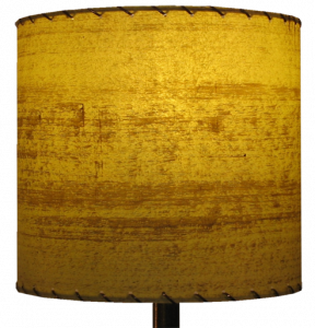 10 inch drum lampshade - vintage style