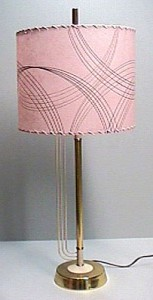 pink drum lampshade