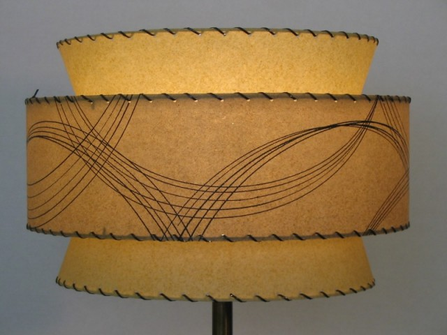Retro atomic lamp shade retro atomic 3 tier lamp shade aloadofball Gallery