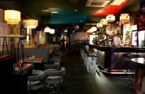 retro bar and lounge lighting
