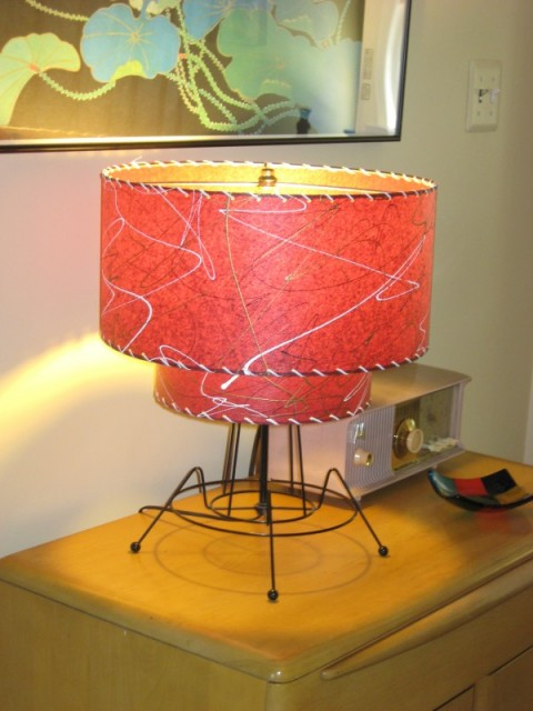 image of retro lampshade