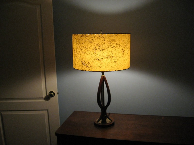 butterscotch drum lamp shade