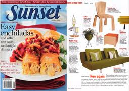 Meteor Lights in Sunset Magazine