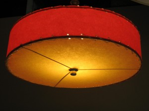 custom ceiling light cover