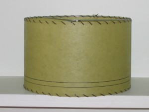 picture of green drum lamp shade