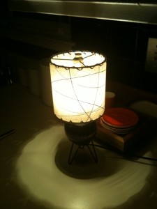 image of small drum lampshade