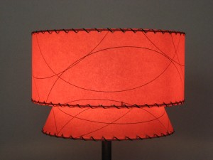 Mid Century And Retro Fiberglass 1950s Lampshades
