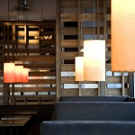 photo of modern restaurant lamps