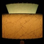 picture of small retro vintage lamp shade