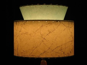 small retro vintage lamp shade