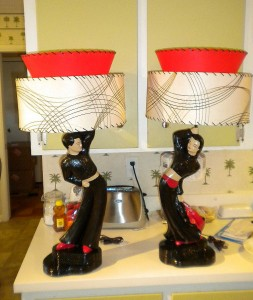 picture of vintage 50s lamps