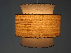 picture of a 1950s-style hanging lamp
