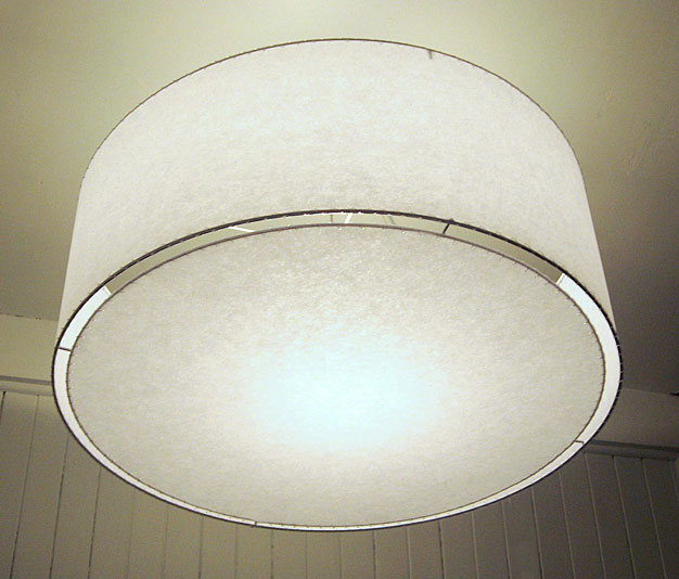36 Inch Drum Shade Pendant Lamp