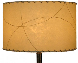 image of 15&quot dia. contemporary drum lampshade by Meteor Lights